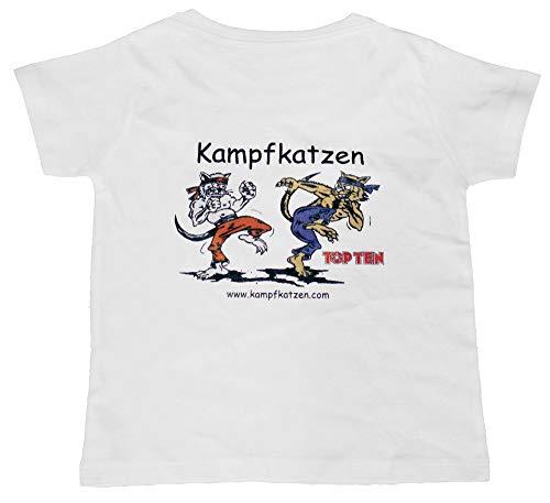 T-Shirt für Kinder Kampfkatzen für Kinder 140