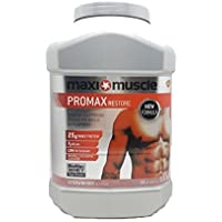 Maxi Muscle Promax Restore Protein Shake Powder, 1.12 kg - Strawberry Flavour
