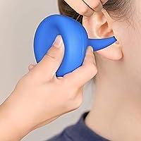 KWOKWEI 120ML Ohrenspritze, Medizinischer Ohrenreiniger/Ohrendusche aus Weicher PVC, Ohrenreiniger Ohrenschmalzentferner/Ohrenball in Blau für Kinder Erwachsene