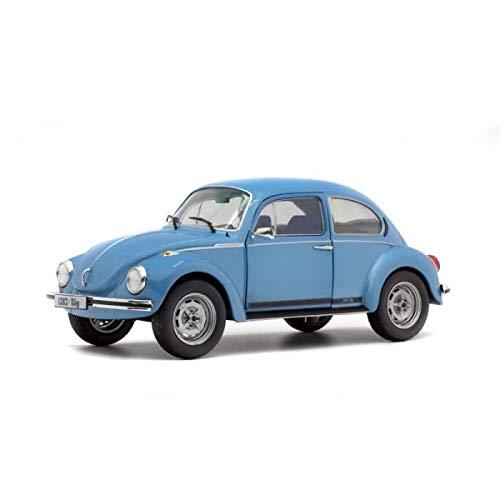 Solido S1800508 1:18 VW Käfer 1303 Big (1974), blau, Maßstab