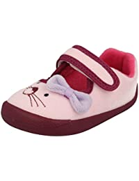 10995f45bf82 Amazon.co.uk  Clarks - Slippers   Girls  Shoes  Shoes   Bags
