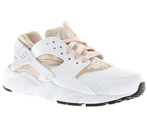 NIKE-Huarache-Run-Print-GS-Enfants-Chaussures-Blanc-704946-100
