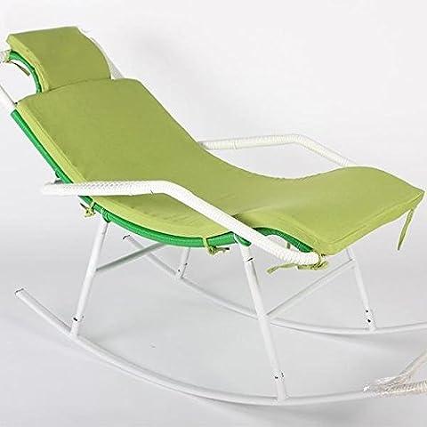 GDS Medio Resilient Espuma Cojín Acolchado mecedora Cojín antideslizante transpirable cojines de silla verde