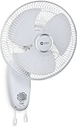 Orient Electric Snowfall 12WC01 300mm Wall Fan (Snow White)