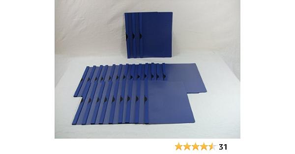Leitz Bewerbungsset Klemmmappen A4, PP dunkelblau