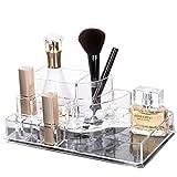 Acryl Makeup Organizer Clear Aufbewahrungsstand-Ausstellungs-Tabelle für...