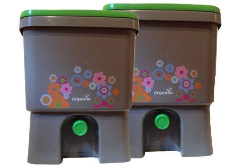 organico Bokashi pattumiera per Compost per rifiuti di cucina Set di 2per microrganismi