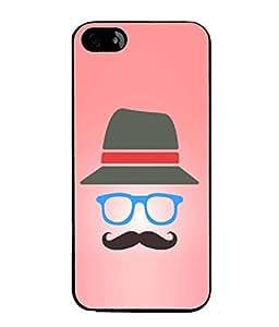 PrintVisa Designer Back Case Cover for Apple iPhone 5S (Love Lovely Attitude Men Man Manly)