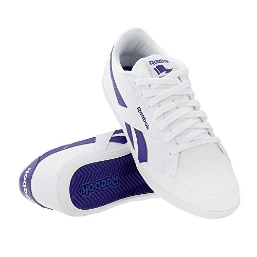 Reebok - Royal Transport S, Scarpe sportive Donna Bianco (Blanco (White / Team Purple))