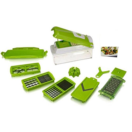 RETAILSHOPPING All In One High Quality & Durable Nicer and Dicer Plus Multi Chopper Vegetable Cutter Fruit Slicer  available at amazon for Rs.449