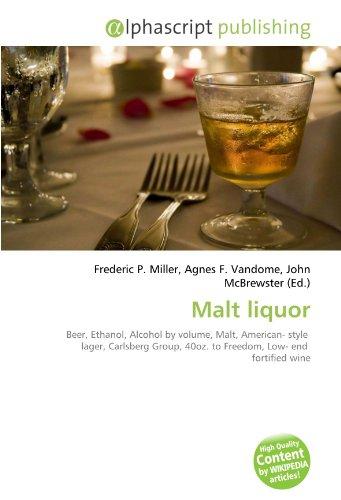Malt liquor por Frederic P Miller
