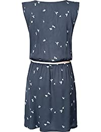 MADE IN ITALY Supermini Kleid Longtop Strandkleid mit Gürtel türkis 36 38 40