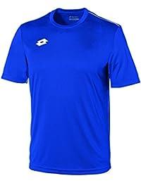 Lotto Jersey Delta Camiseta de Fútbol, Hombre, Azul (Royal / Wht), L