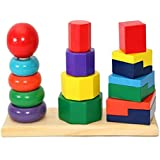 Educational toy for children colors Towers,Multiple pieces , Multi Color