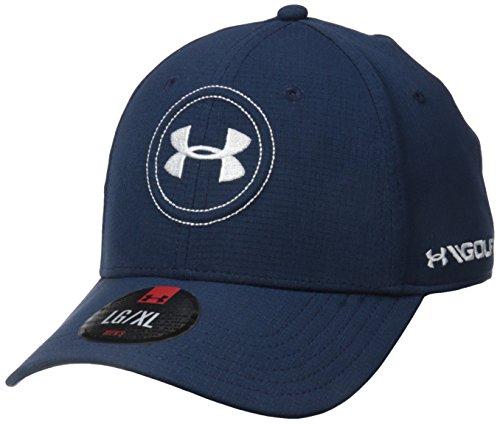 Under Armour 2016 AirVent Official Tour 2.0 Stretch Fit Lightweight Men's Golf Cap Academy Large/XL Tour Fit Cap
