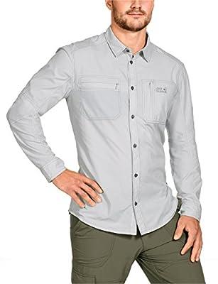 Jack Wolfskin Herren Hemd Rayleigh Stretch Vent Shirt von Jack Wolfskin auf Outdoor Shop