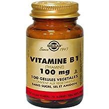 Solgar Vitamin B1 (Thiamine) 100mg 100 Vegetable Capsules