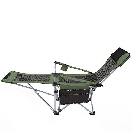 L&J Chaise de pêche Portables,Fauteuils de Plage Camping chaises Pliantes pour Patio Piscine extérieure Balcon Jardin Pique-Nique Barbecue Peinture Croquis,Charge 90kg-A
