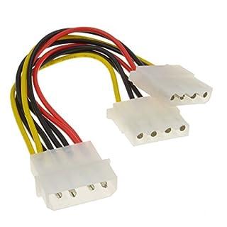 kenable 2 Way 4 pin PSU Power Splitter Cable LP4 Molex 1 to 2 Lead 15cm (B000ITL4KI)   Amazon price tracker / tracking, Amazon price history charts, Amazon price watches, Amazon price drop alerts