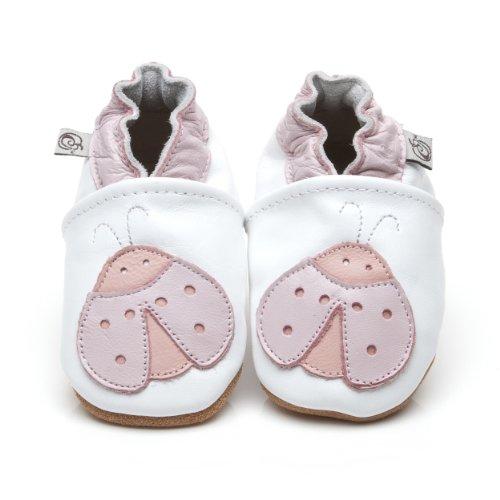 Weiche Leder Baby Schuhe Marienkäfer 12-18 monate