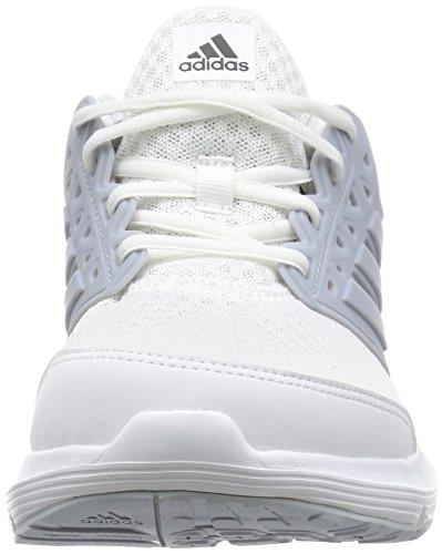 adidas Galaxy 3, Scarpe da Corsa Uomo Bianco (Ftw White/clear Green/clear Green)