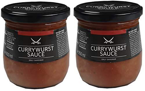 SANSIBAR Sylt - die kultige Currywurst Sauce - spicy (würzig-scharf) je 350g (2)