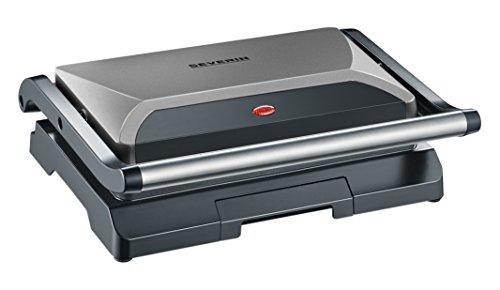 Severin KG2394 Compact Multi-Grill, Grigio Metallico/Nero