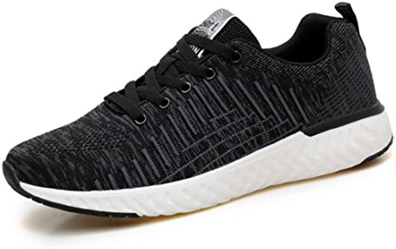 DANDANJIE Zapatos Deportivos para Hombres Zapatos Deportivos Ocasionales Zapatos Corrientes al Aire Libre Respirables  -