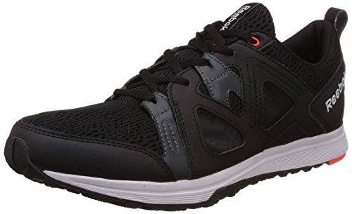 f0176c1cf0e63d Reebok ar1243 Men S Train Fast Xt Black Grey Atomic Red And Silver  Multisport Training Shoes 10 Uk- Price in India