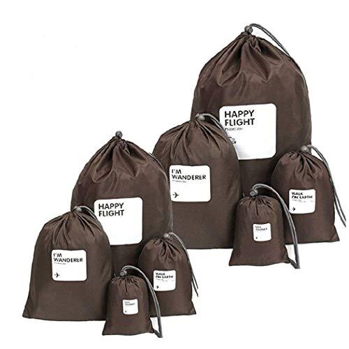 Abaría - Organizadores de bolso impermeable (8 unidades) - Bolsas de