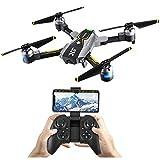 Atoycasa Drone con Telecamera Video, FPV RC Drone GPS 720P HD Wi-Fi Telecamera...