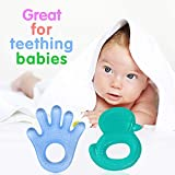 Baal Set Of 2 Pcs Non Toxic Toddler And Infant Baby Silicone Teether Sooter Teether Teething Toys In Various Shapes For Baby, Multicolor, 10 Grams, Pack Of 1
