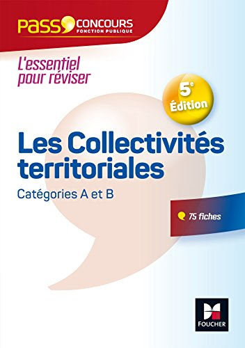 Pass'Concours - Les Collectivits territoriales - N10 - 5e dition