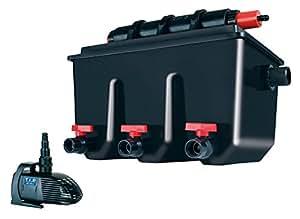 T i p multi chamber external pond filter mts black for Multi chamber filter systems for ponds