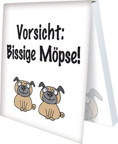 "'Foglietti ""Battuta Möpse Rannenberg e Friends"