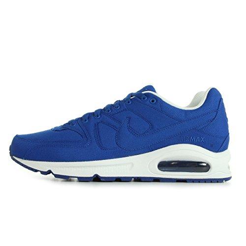 Nike Air Max Command Textile, Chaussures de Running Compétition homme Bleu et blanc