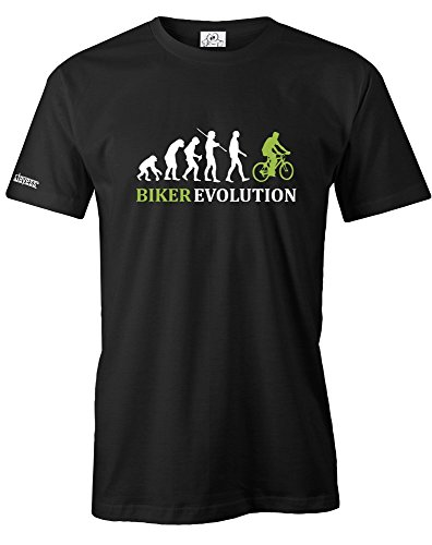BIKER EVOLUTION - HERREN - T-SHIRT in Schwarz by Jayess Gr. XXL