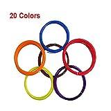 PLA 1.75mm Filament 5M 20 Color for 3D P...