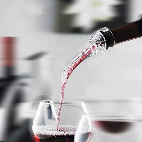 Casavidas Wein-Dekantierer für Rotwein, Ausgießer, Ausgießer, Schnelles Ausgießen, Pumpe, tragbarer Filter -