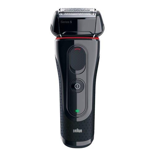 Braun Series 5 5030 - Elektrorasierer, schwarz / rot