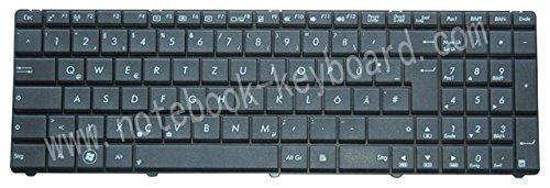 Nexpert Orig. QWERTZ Deutsche Tastatur Asus A75D A75DE A75DE-TY043V A75 D Serie Schwarz NEU -