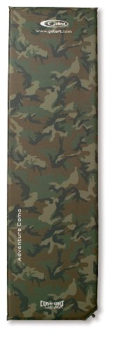 Gelert Selbstaufblasbare Isomatte Adventrue Camo Self Inflating, army camo, 183 x 50 x 3 cm, ABD089102