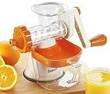 DeFort® Slow Juicer Saftpresse zum schonenden zubereiten klarer Säfte ohne Oxidation Kaltpresse