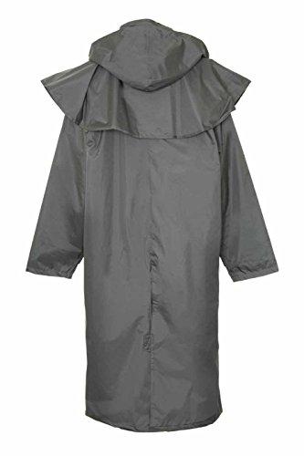 Champion Sandringham volle Länge Wasserfesten Mantel mit Abnehmbare Kaputze für Damen Grün