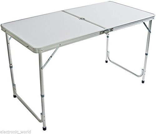 vivo-4-foot-aluminium-folding-portable-camping-picnic-party-dinning-table-height-adustable-bbq