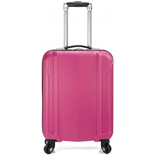 Juego de 2 maletas con 4 ruedas - Tamaño mediano/60 cm + cabina/50cm (apta low...