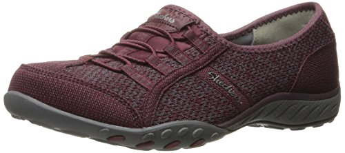 Skechers - Breathe-easy allure, Scarpe da ginnastica Donna Red - Rot (BUGY)