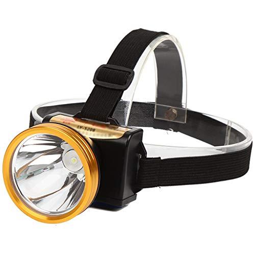 Lampe Torche Rechargeable à LED USB - Lampe Frontale Super Brillante Parfait pour la Course, la Marche, Le Camping, la Lecture et la randonnée