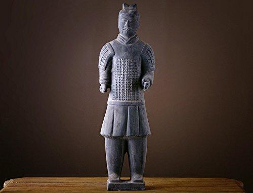 Terrakotta Krieger 54cm Höhe Xian Armee Offizier