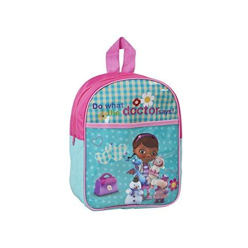 Kinder Rucksack Doc McStuffins - Kindergarten Tasche Freizeit - 30 x 26 x 9 cm